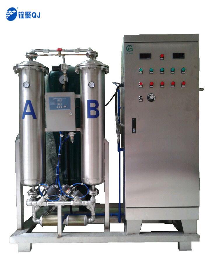 氧气型广州铨聚氧气源400/500克蜂窝式臭氧发生器