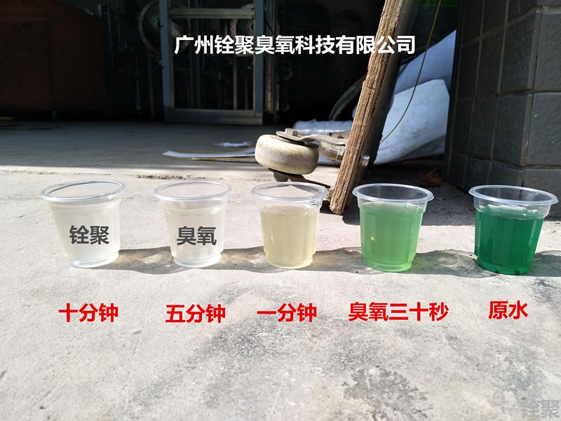 食品污水臭氧发生器用于脱色实例